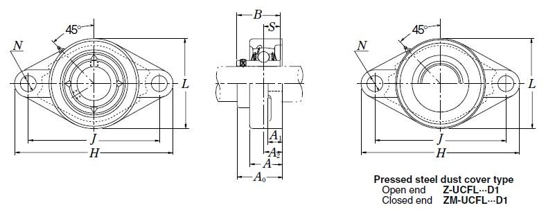 NSK UC215D1 Bearing,NSKUC215D1_Shanghai Allen Bearing Co , Ltd